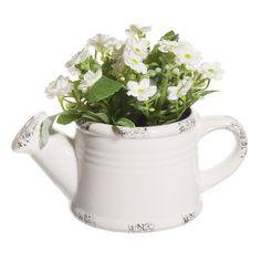 Innaffiatoio fiori bianchi | Maisons du Monde