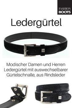 37acf71d63ef8f Fashion Boots FG5836 Negro Ledergürtel - schwarz | Modischer Damen und  Herren Ledergürtel aus der FASHION