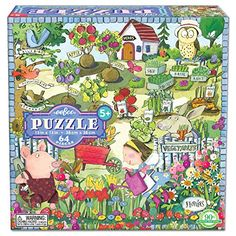 Growing A Garden 64 Piece Puzzle E -- You can get additional details at the image link.