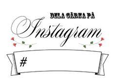 Hashtag-tavla att skriva ut! Tala om för gästerna att de gärna får dela bröllopet på sociala medier och vilken hashtag de ska använda.