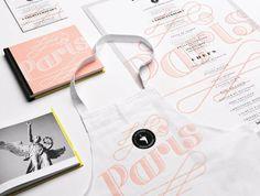 Creative Identity, Paris, Branding, -, and York image ideas & inspiration on Designspiration Stationery Design, Corporate Design, Graphic Design Typography, Corporate Identity, Print Design, Web Design, Logo Design, Graphic Projects, New Paris