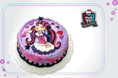 Torta biscochuelo de monster high