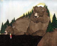 Journey to the Sleeping Mountains Ltd. Edition by StupidAnimalShop