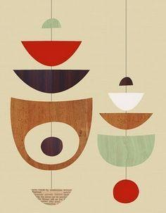 Work of artist & illustrator Jenn Ski