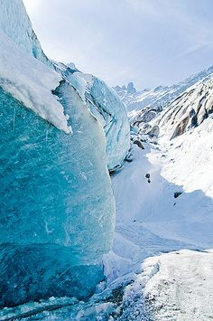 The Mer de glace (Sea of Ice) , Chamonix