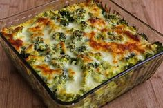 Vegetarian Curried Brown Rice and Broccoli Casserole with Creamy Curry Sauce | Kalyn's Kitchen®