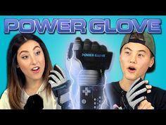 ▶ TEENS REACT TO POWER GLOVE (Nintendo) - YouTube