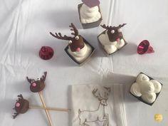 Rudolph le renne, cupcakes de Noël - Encore un gâteau Decoration, Festive, Desserts, Battle, Advent, Chocolates, Decor, Tailgate Desserts, Deserts