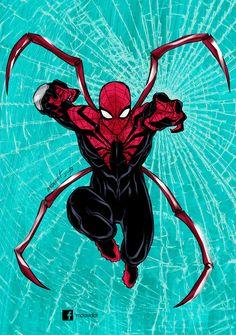 Superior Spider-Man (Dr. Otto Octavius) | art by Marco D. Carrillo on mdavidct.deviantart.com on @DeviantArt