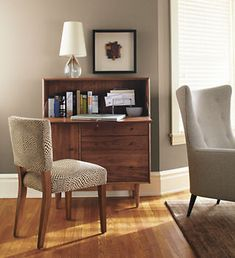 Nice idea in a guest room | Grove Office Center - Office Armoires - Office - Room & Board