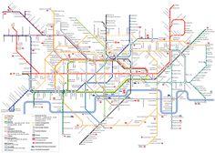 London Tube Infographic