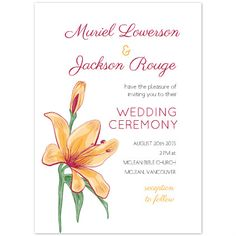 Unique Wedding Invitation Printables Gorgeous Lily Free Templates Invitations