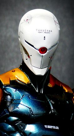 Gray Fox - Cyborg Ninja (Play Arts Kai) | Flickr - Photo Sharing!