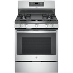 Adora 5.0 Cu. Ft. Gas Range With Self Cleaning Convection Oven In Stainless  Steel, Silver/Gray