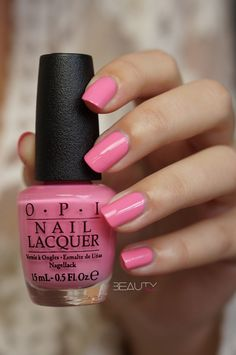 OPI New Orleans voorjaarscollectie 2016 - Beautyill Work Nails, Get Nails, Hair And Nails, Toe Nail Color, Nail Colors, Acrylic Dip Nails, Red Manicure, Basic Nails, Nail Art Videos