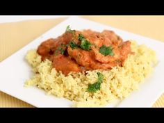 Indian Inspired Butter Chicken Recipe - Laura Vitale - Laura in the Kitchen Episode 805 - YouTube