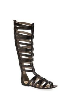 LOVE this knee-high gladiator!
