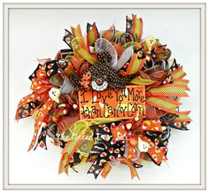 Hey, I found this really awesome Etsy listing at https://www.etsy.com/listing/480166101/halloween-wreath-halloween-candy-corn
