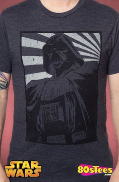 Lord Vader Propaganda T-Shirt: Star Wars Mens T-Shirt