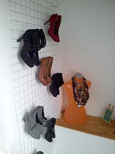 1000 images about ideen zum selbermachen on pinterest diy shoe storage do it yourself and. Black Bedroom Furniture Sets. Home Design Ideas