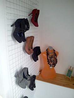 ideen zum selbermachen on pinterest diy shoe storage do it yourself and storage. Black Bedroom Furniture Sets. Home Design Ideas