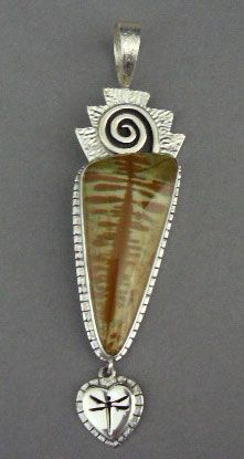 Native American Necklace by Myron Panteah at Home & Away Gallery