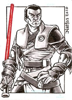 Star Wars - Galen Marek: Force Unleashed had one of the best Star Wars stories to date. It should have been made into a movie. Starkiller was a great character.
