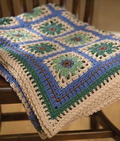Crochet Restful Tiles Throw