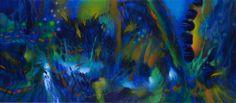 2012 La obra de Jacanamijoy, que carece de antecedentes en la historia de la pintura occidental, está centrada en el aspecto exterior de las cosas que nos rodean y no en lo que late, según el pensamiento mágico primitivo, en el misterioso interior de cada una. Artist Art, Interior, Boats, Paintings, Sweet, Google, Color, Abstract Art, Modern Abstract Art