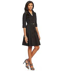 Jones New York Dress FitandFlare Shirt Dress #Dillards