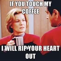 Janeway has a very serious addiction . . .