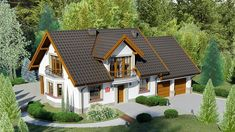 962,34 Most Visited, Home Fashion, House Plans, Community, Exterior, House Design, Cabin, How To Plan, Mansions