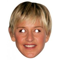 Ellen De Generes Celebrity Mask