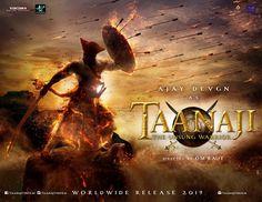 Taanaji First Official Poster | Ajay Devgn | Directed by Om Raut | Movie Releasing in 2019. #Taanaji #AjayDevgan #OmRaut#Viacom18MotionPictures #AjayDevgnFFilms