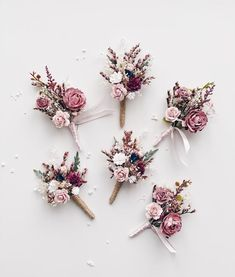 Excited to share this item from my shop: Wedding Boutonniere, Rustic boutonniere for men, Dusty Rose boutonniere, Burgundy boutonnière, Flower button hole Floral Wedding Hair, Dusty Rose Wedding, Burgundy Wedding, Flower Bouquet Wedding, Rose Bouquet, Fall Wedding, Wedding Colors, Wedding Rustic, Bridal Bouquets