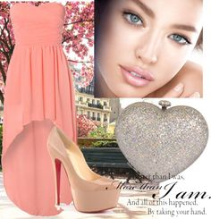 """""""Pink + nude"""" by lychmacalincag on Polyvore"""
