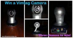 Win a Vimtag video camera-three chances to win | Tiffany's Diamond Dogs #sponsored