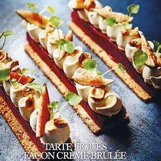 La rentrée approche, et pas que pour les écoliers !!! La nouvelle tarte du mois bientôt disponible à la boutique @dimancheaparis mais également du 1er au 11 sept à la boutique @foudepatisserie. Retrouvez le pas à pas dans le nouveau magazine @foudepatisserie du mois de septembre. 💼💼💼💼💼 #chef #nicolasbacheyre #pastry #patisserie #tart #tarte #pie #fig #creme #magazine #food #art #delicious #sweet #sweetooth #photooftheday #love #life #enjoy #friends #instagramers #instagood #instafood #follo Cupcake Cakes, Cupcakes, French Pastries, Christmas Desserts, Hot Dog Buns, Gingerbread, Cake Decorating, Dessert Recipes, Cookies