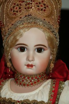Porcelain And China Code: 3736596479 Antique Dolls, Vintage Dolls, Half Dolls, Doll Costume, Heart For Kids, Cute Bears, Dollhouse Dolls, Old Toys, My Princess