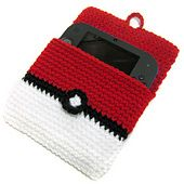 Ravelry: 2DS Pokeball Cover pattern by i crochet things