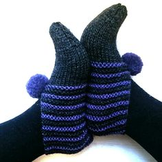 Easy Slippers Knitting pattern by Tina Hauglund Knitting Patterns Free, Free Knitting, Free Pattern, Easy Knitting Projects, Garter Stitch, Knitting Socks, Fingerless Gloves, Arm Warmers, Knit Crochet