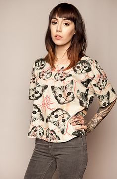 Catsberry Ripple Crop Top.  I didn't even know I wanted a crop top until I saw this one.