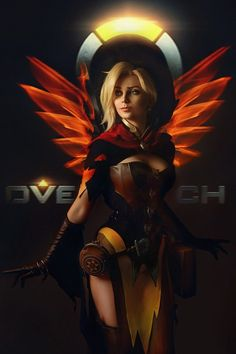 Mercy from overwatch cosplay by AGflower Cosplay photo by Kseniya Rogutenok Witch Cosplay, Cute Cosplay, Cosplay Girls, Cosplay Costumes, Cosplay Ideas, Overwatch Video Game, Overwatch Fan Art, Overwatch Mercy, Mercy Witch