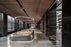 da-interior   zhengzhou - WEIMAX STUDIO Innovative City, Showroom Interior Design, Experience Center, Zhengzhou, Vestibule, Ceiling Design, Pavilion, Futuristic, Studio
