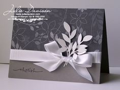 B Classic Elegance by juls716 - Cards and Paper Crafts at Splitcoaststampers