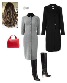 """""""Work"""" by cgraham1 on Polyvore featuring Gianvito Rossi, Olympia Le-Tan, P.A.R.O.S.H. and Marni"""