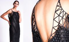 3D printed fashion designed by Danit Peleg printed at home