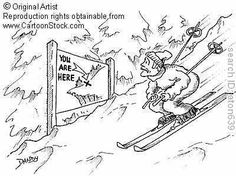 Ski Resort funny cartoons from CartoonStock directory - the world's largest on-line collection of cartoons and comics. Funny Cartoons, Funny Comics, Skiing Quotes, Mikaela Shiffrin, Winter Fun, Winter Gear, Winter Snow, Vintage Ski Posters, Ski Racing