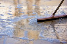 HomeAdvisor's Tile Cleaning Cost Guide lists average tile and grout cleaning service costs. Estimate the price to wash tiles and grout. Grey Bathroom Floor, Red Bathroom Decor, Best Steam Cleaner, Coloured Grout, Clean Tile Grout, Home Improvement Contractors, Cabinets And Countertops, Grout Cleaner, Cleaning Business