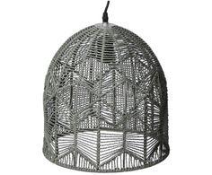 Hier war keine Spinne am Werk: Diese Lampe setzt mit Ihrer Spinnennetz-Optik ein ganz klares Statement in Ihrem Wohn- oder Schlafzimmer. Die aus Seilen bestehende Pendelleuchte TOILE von Côté Table überzeugt nicht nur mit Ihrem ungewöhnlichen Design, sondern auch mit tollen Lichteffekten. Sorgen Sie mit TOILE für ein gemütliches Ambiente.